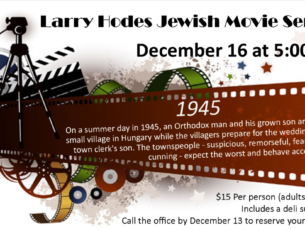 Larry Hodes Movie Night 1945