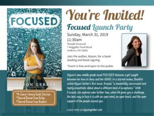Alyson Gerber Launch event
