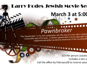 Larry Hodes Movie Night Pawnbroker