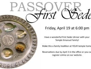 Passover Seder 2019