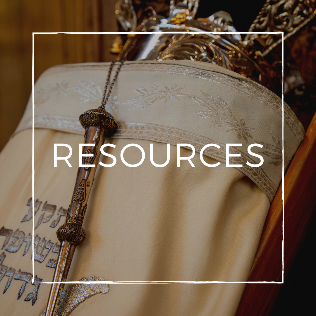 Whether your looking for a way to make your living room feel like a sanctuary, a way to read our prayer book electronically, or looking for High Holy Day recipes, we have the resources for you!