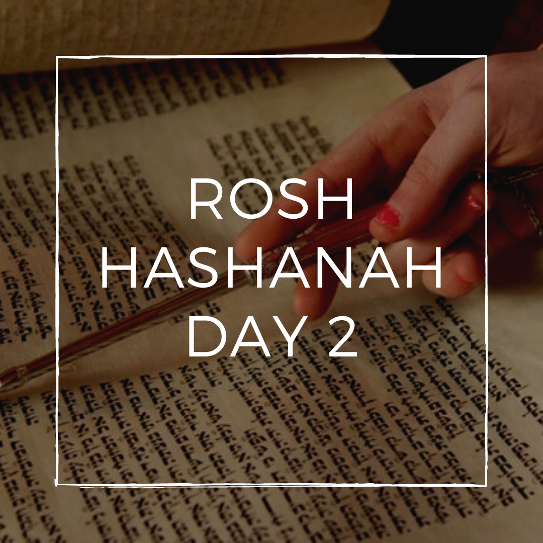 osh Hashanah Day 2